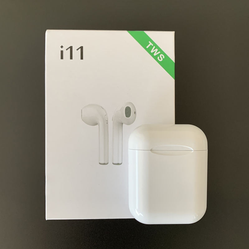 New i11 TWS Wireless Stereo earbuds tws i11 better than i12 i7S i9s tws i10 tws for iphoneXS MAX